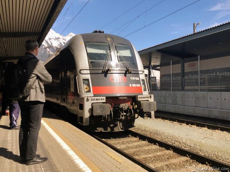 ÖBB EuroCity Train Innsbruck