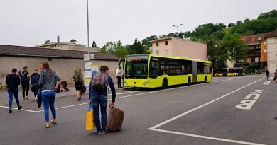 Bus Feldkirch Sargans Liechtenstein Travelblog