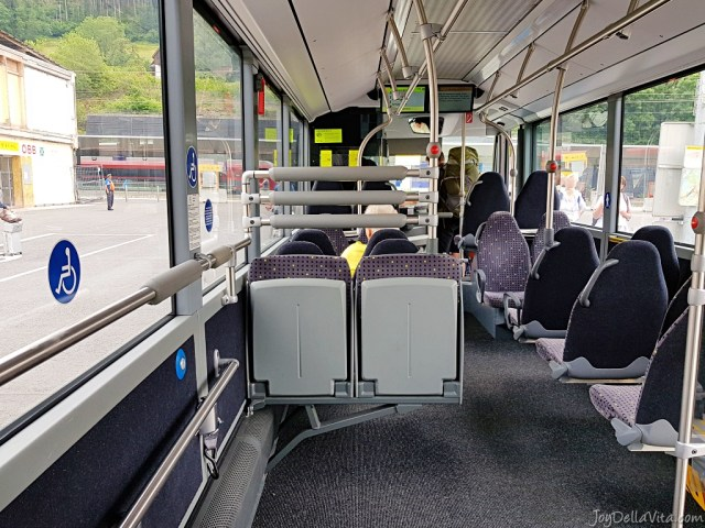 Bus Feldkirch Liechtenstein Travelblog