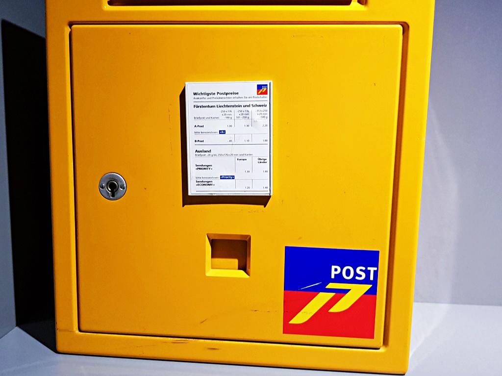 post price postcard vaduz english blog liechtenstein