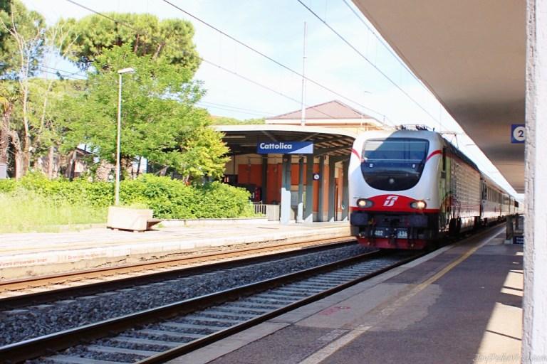 Taking the Train to Cattolica / Gabicce Mare from Rimini / Riccione
