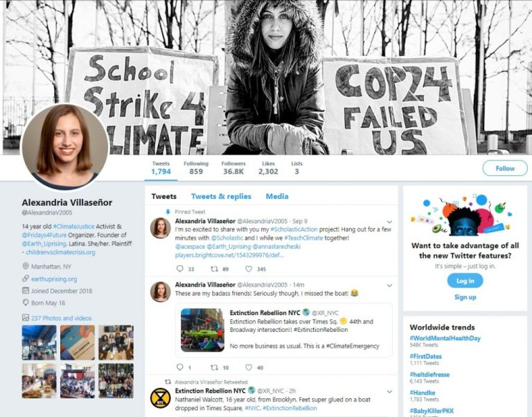 Young climate activists to follow on Twitter in addition to Greta Thunberg