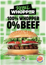 Burger King Germany Rebel Whopper