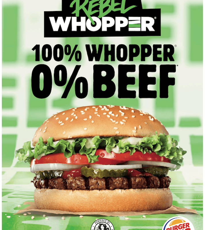Burger King Germany Rebel Whopper