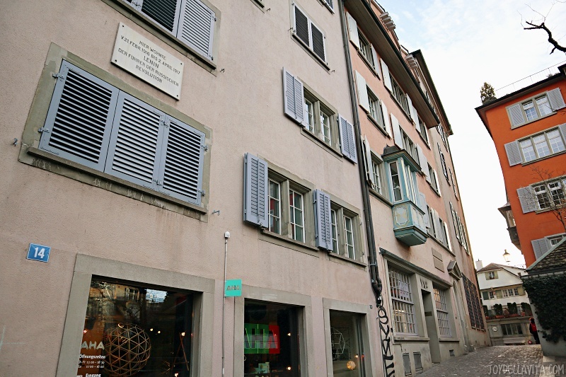 apartment lenin house zurich