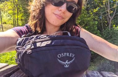 Osprey Daylite Waist REVIEW hiking day pack blog lisa joydellavita