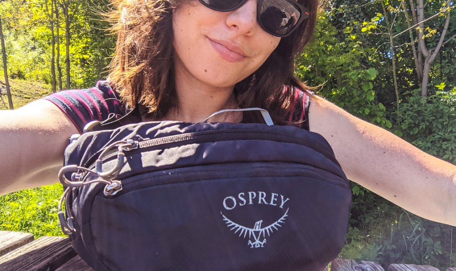 Day Pack for Hiking Review: Osprey Daylite Waist fanny-pack