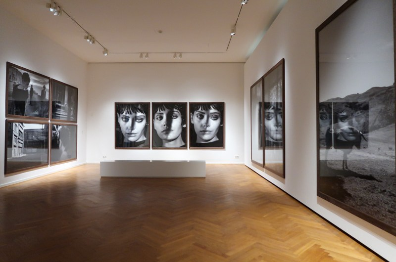 Peter Lindbergh Untold Stories exhibition in Hamburg