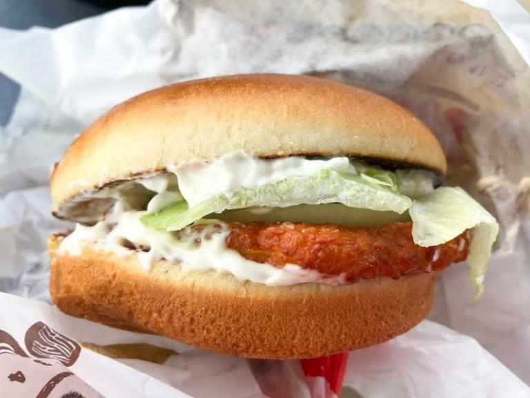 New: Halloumi King vegetarian burger by Burger King Germany (summer 2020)
