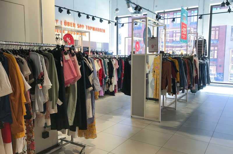 What you can shop at Zalando Outlet Hamburg