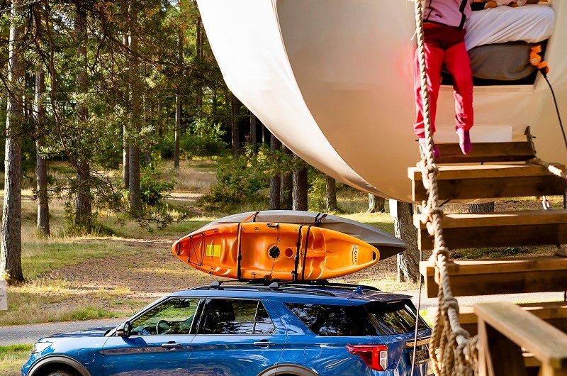 Ford and Outdoor Exploration Experts Komoot help you find new adventures for your next Staycation