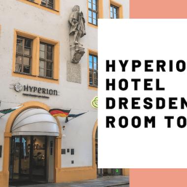 HYPERION Hotel Dresden am Schloss Room Tour