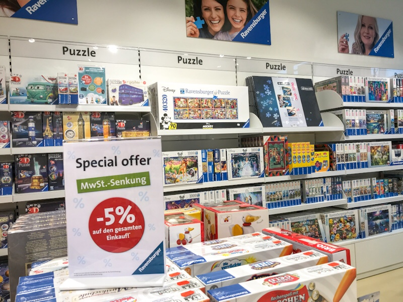Ravensburger outlet shopping blog joy della vita