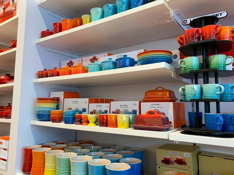 What you can buy at a Le Creuset outlet