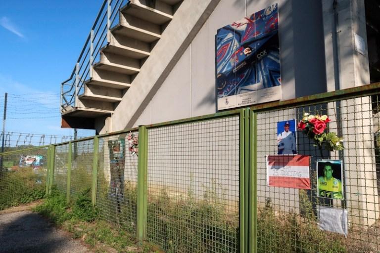 Roland Ratzenberger Memorial in Imola at Autodromo Enzo e Dino Ferrari race track