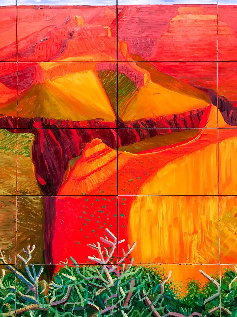 A Bigger Grand Canyon by David Hockney