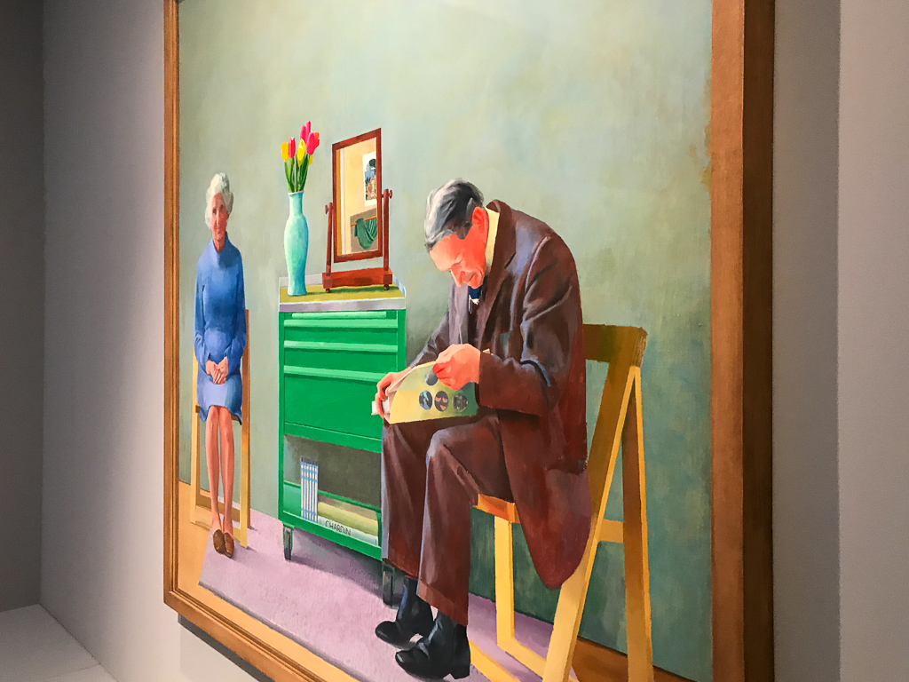 David Hockney. Works from the Tate Collection at Bucerius Kunst Forum Hamburg