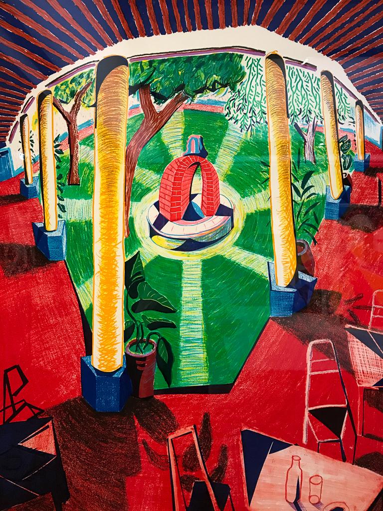 David Hockney Views of Hotel Well