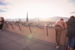 Polyterrasse Zurich View