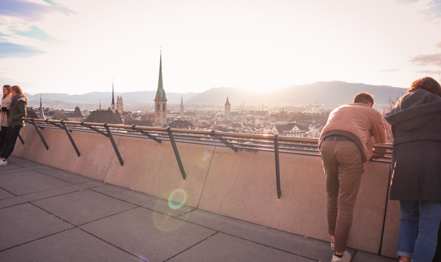 Places with a view in Zurich, Switzerland