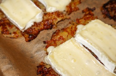 Potato Pear Roesti Brie Cheese recipe french swiss blog joydellavita header