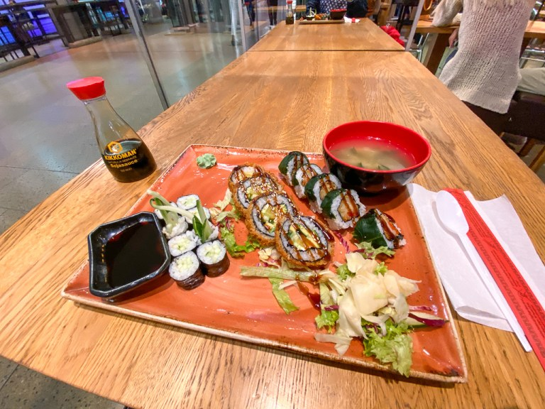 The best Sushi in Hanover – noosou at the train station Hannover Hauptbahnhof