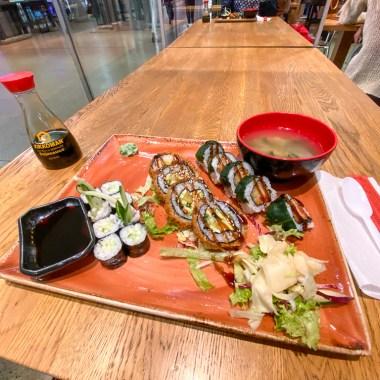 Vegetarian Sushi NOOSOU Hanover Review Blog JoyDellaVita