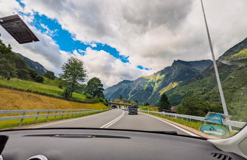 Roadtrip Travel Milan Zurich by Car Switzerland Motorway Blog JoyDellaVita