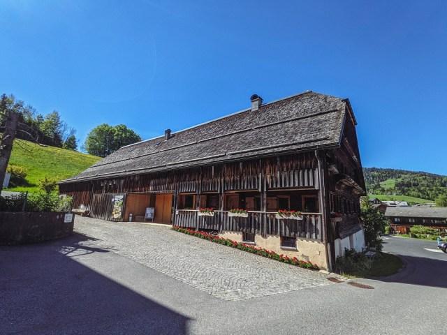 Kleberhaus style old farmhouse in Schwarzenberg Vorarlberg