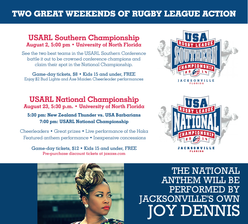 usarl championship postcard WITH JOY