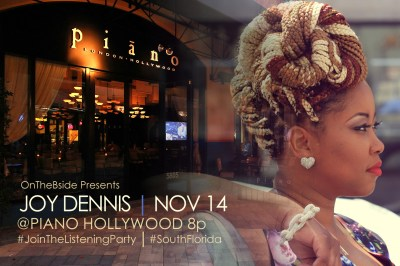 Ingrid B Presents #FLOWFRIDAYS Live Music & Poetry Dinner Party Featuring @JOYDENNISmusic Nov 14th