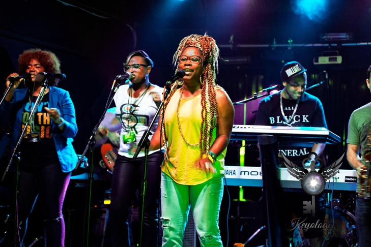 Joy Dennis with fusebox funk