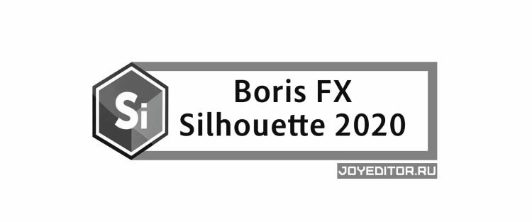 Boris FX - Silhouette 2020