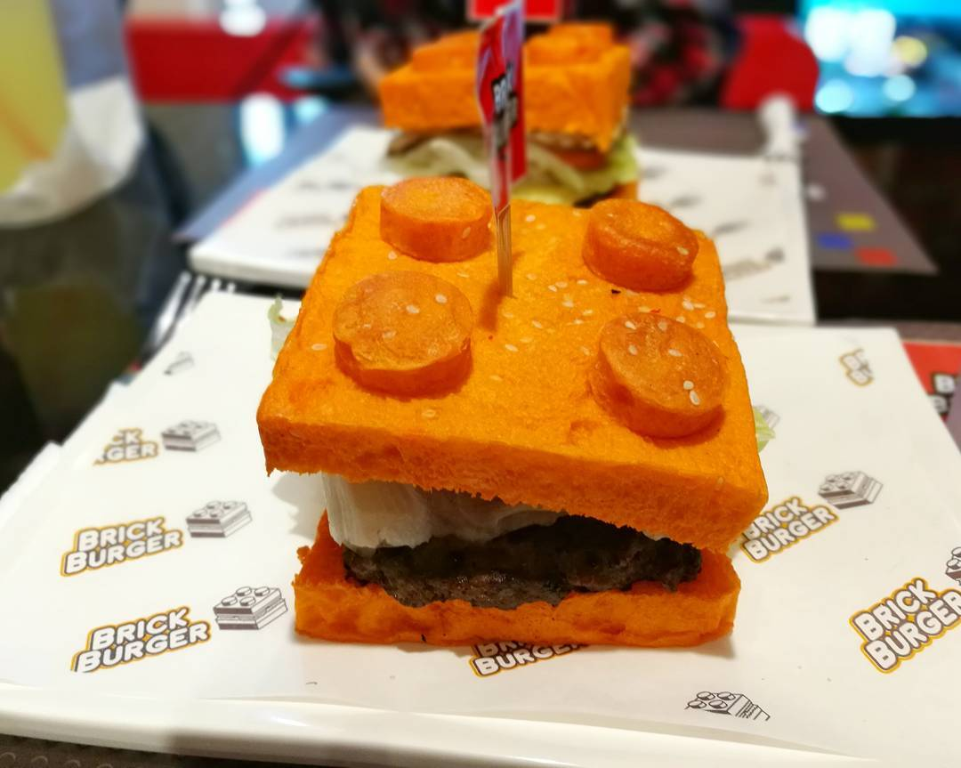 Lego Burgers Are Totally A Thing And We Love Them Joyenergizer - This restaurant in the philippines now sells lego burger buns