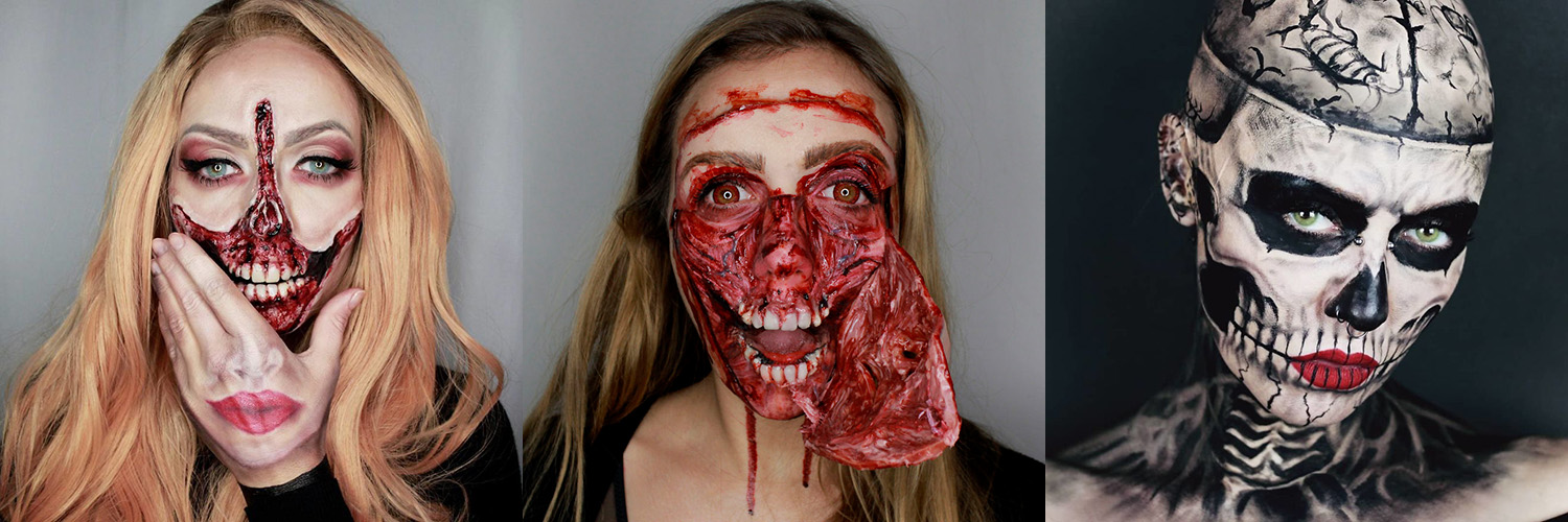Metamorphosia FX Show Off Amazing Halloween & Horror Makeup Designs