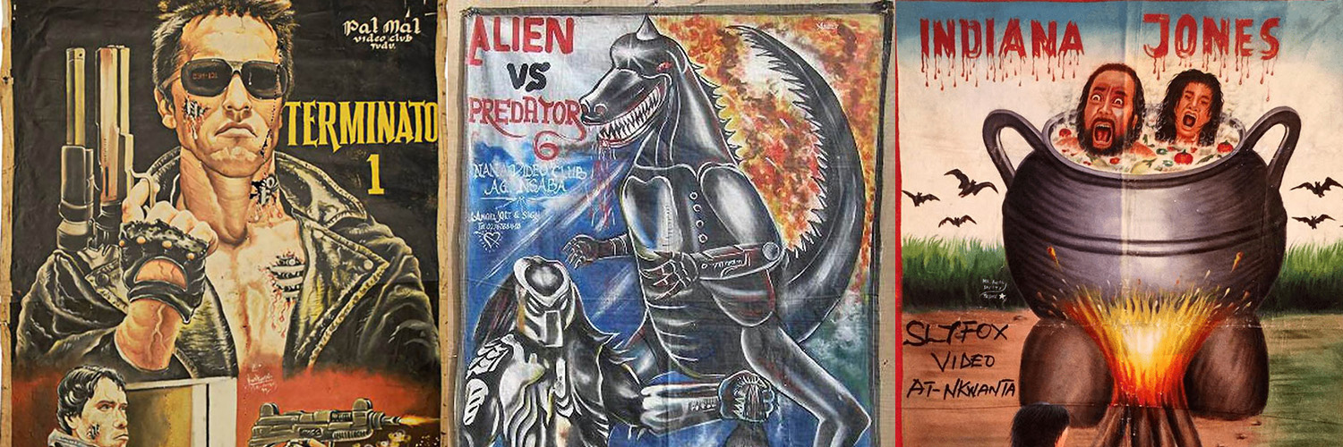 The Crazy World of the Bootleg Movie Posters from Africa