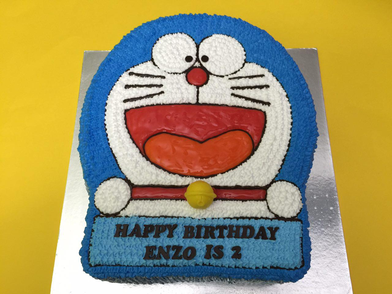 Doraemon Cakes Singapore Favourite Childhood Character