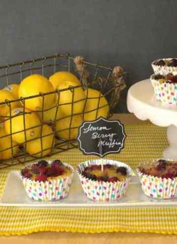 Lemon Berry Muffins