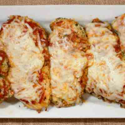 Lazy Chicken Parm – Baked Parmesan