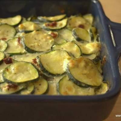 Zucchini Gratin – Low Carb, Grain Free, THM S