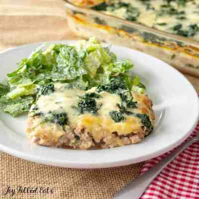 White Keto Lasagna – Low Carb, Gluten Free, THM