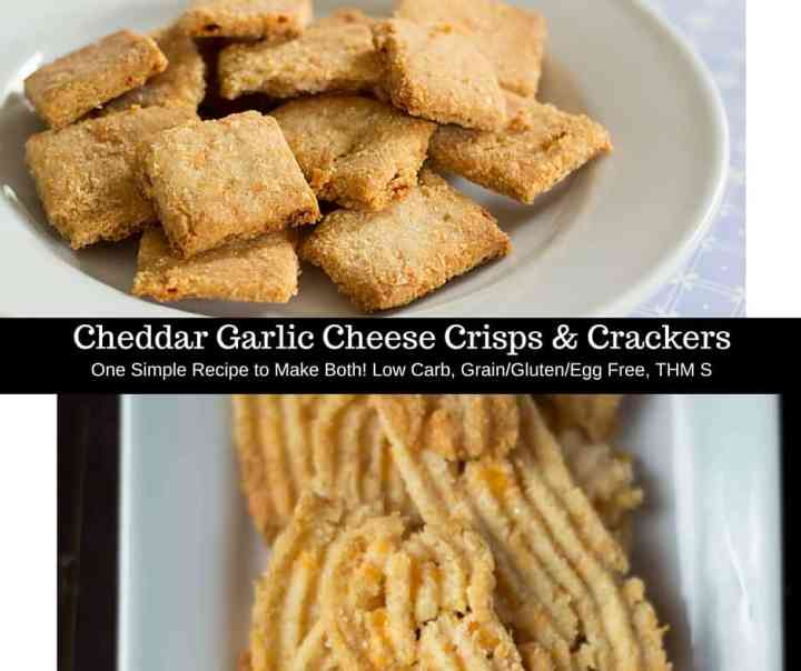 If you are missing crackers on your diet this is for you. The same recipe makes cheese crisps or straws & crackers. Low carb, gluten/grain/egg free, THM S.
