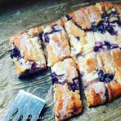 Braided Blueberry Cheese Danish