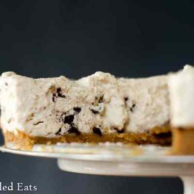 Cannoli Cheesecake –  No Bake, Sugar Free, Low Carb