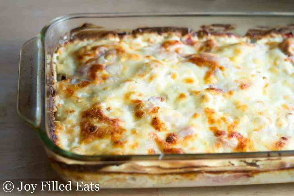Chicken Cordon Bleu Casserole FB