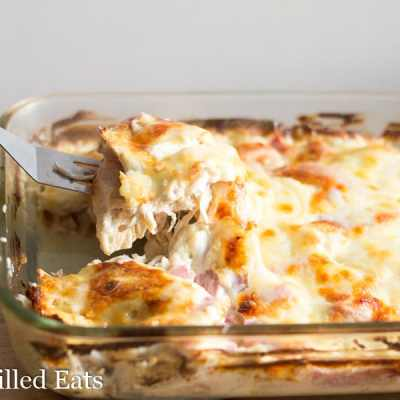 Chicken Cordon Bleu Casserole – Low Carb