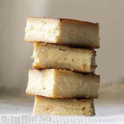 Snickerdoodle Cheesecake Bars – Low Carb, THM S