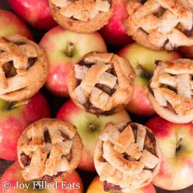 Apple Pie Cookies - Low Carb, Grain Free, Sugar Free, THM S