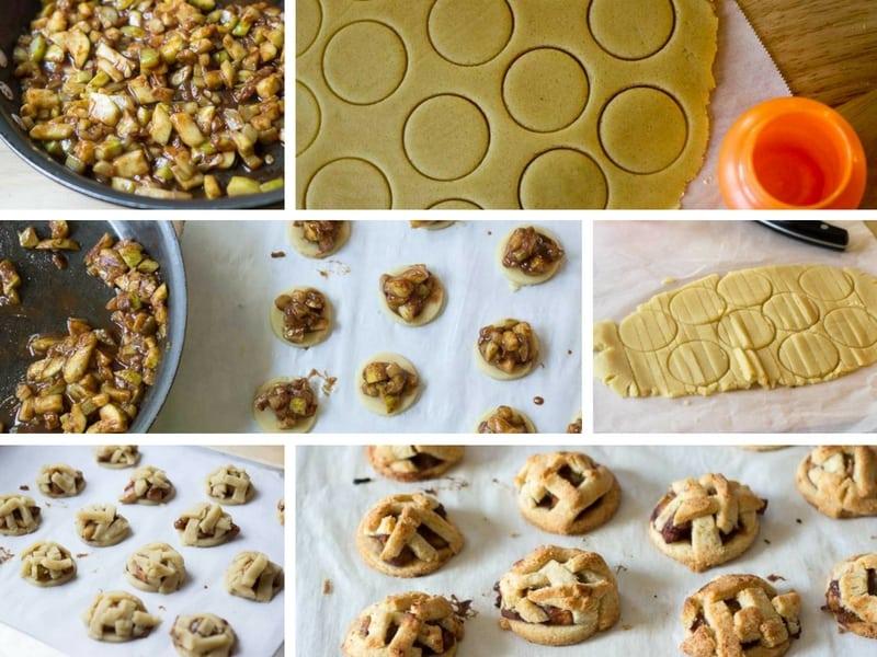 Apple Pie Cookies - Low Carb, Grain Free, Sugar Free, THM S