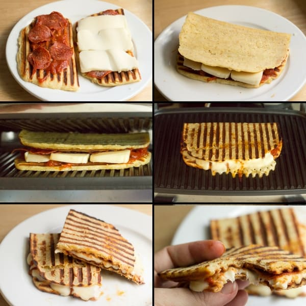 Grain Free Pepperoni Pizza Panini